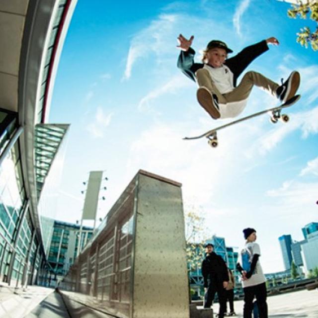 Mats van der Meer teamrider dreamsshop skateshop