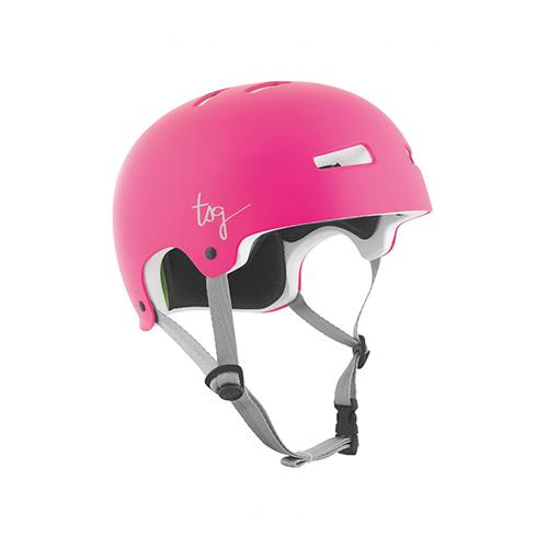 TSG Helmet Evolution Solid Colors Himbeereis