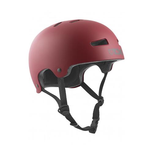 TSG Helmet Evolution Solid Colors Satin Oxblood