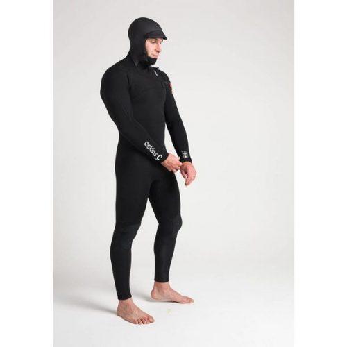 ReWired 5x4 Mens Hooded Streamer Black White M